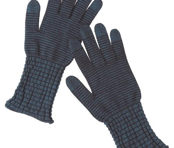 ポーラが冬の乾燥から手指を守るスマホ対応の手袋発売